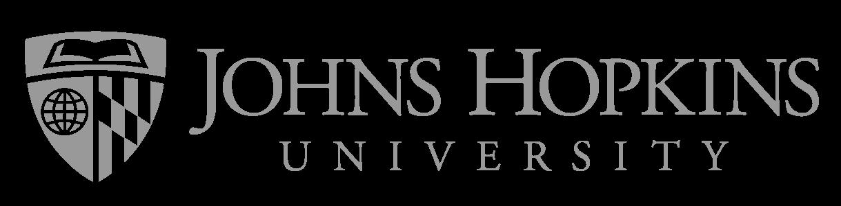 Logo Universidad Johns Hopkins